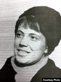 Тамара Аляксеева, вучаніца і будучая жонка Рэнальда Кныша