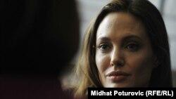 Анджеліна Джолі в інтерв'ю Радіо Свобода рік тому