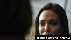 Anxhelina Xholi, aktore dhe Ambasadore e vullnetit të mirë e UNHCR-së