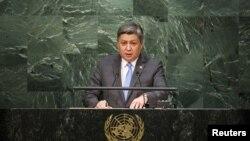Глава МИД Кыргызстана Эрлан Абдылдаев.