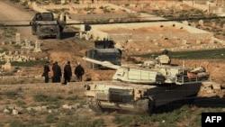 تانک «آبرامز ام ۱» که دراختیار نیروهای عراقی است (عکس از آرشیو)