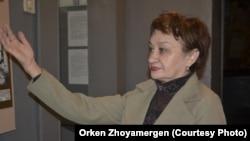 Главный хранитель экибастузского музея Надежда Сторожук. 21 ноября 2012 года.