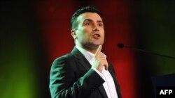 Lideri i opozitës në Maqedoni, Zoran Zaev