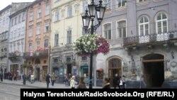 Pe o stradă din Lvov