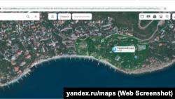 Харакский парк на карте