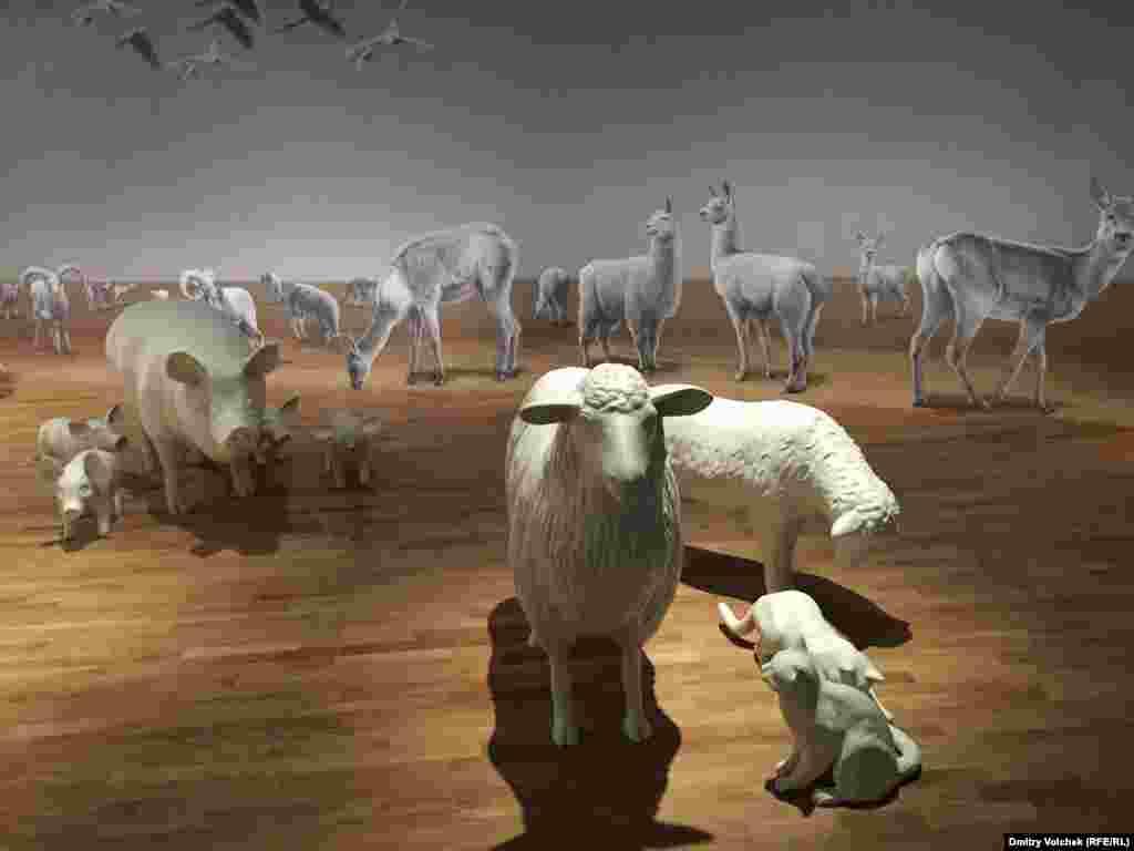 """В главном """"нулевом"""" павильоне рассказывают историю животноводства"""