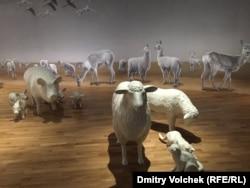 """Животноводство в главном павильоне """"Экспо-2015"""""""