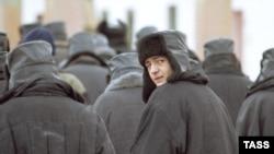 Rossiya qamoqxonasidagi mahbuslar.