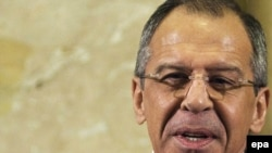Foreign Minister Sergei Lavrov disclosed the goal at a disarmament conference at the European headquarters of the United Nations in Geneva.
