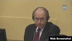 Zdravko Tolimir na suđenju u Hagu, 23. siječanj 2012.