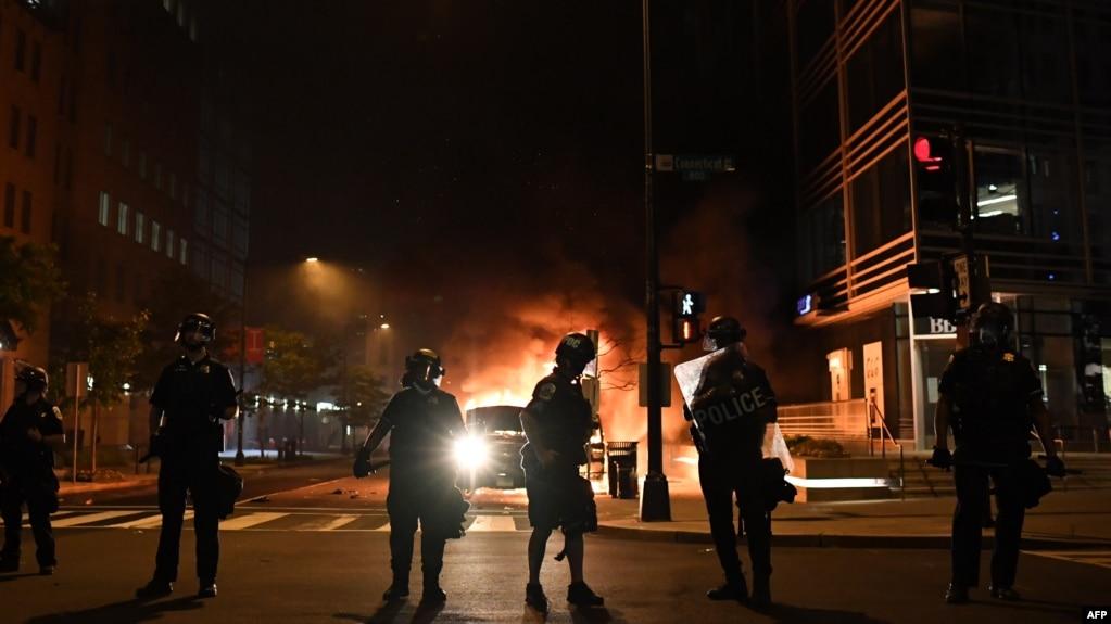 ششمین شب از ناآرامی در شهرهای آمریکا