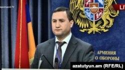Пресс-секретарь МИД Армении Тигран Балаян, Ереван, 12 сентября 2018 г.