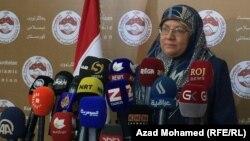 وزيرة شؤون المرأة بيان نوري