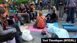 Акция оппозиции Москва, Чистопрудный бульвар, 10 мая