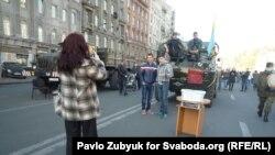 Pamje nga qendra e Kievit që është shndërruar në atraksion për turistët