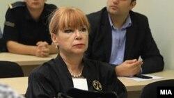 """Архивска фотографија - Обвинителката Вилма Русковска на судење за """"27 април"""""""