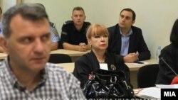 """Обвинителката Вилма Русковска на судење за """"27 април"""""""