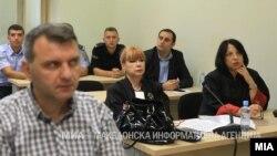 """Архивска фотографија- Обвинителката Вилма Русковска на судење за """"27 април"""""""