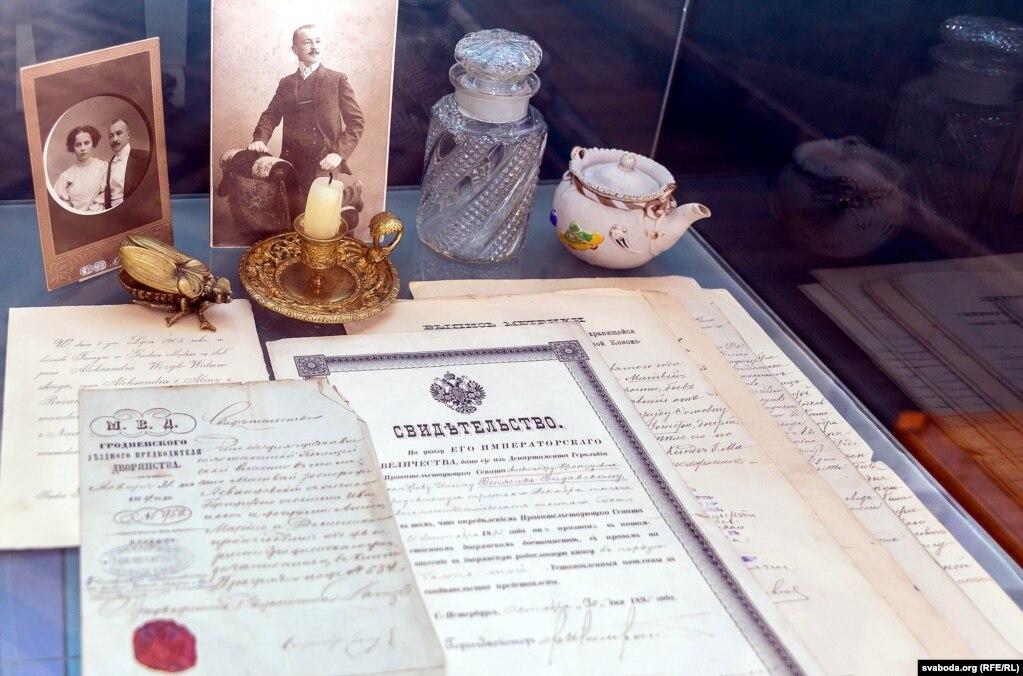 Документы и фотографии семьи Венжык-Видавских