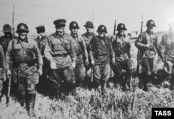 Георгий Жуков во время боев у реки Халхин-Гол, 1939 год