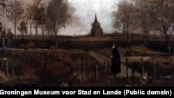 «Весенний сад» Винсента Ван Гога.