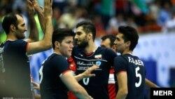 دومین پیروزی تیم ملی والیبال ایران مقابل آمریکا