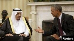Мулоқоти Барак Обама ва молик Салмон дар Кохи Сафед