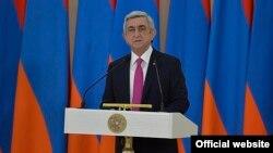 Serzh Sargsian. Yerevan, 28yan2017