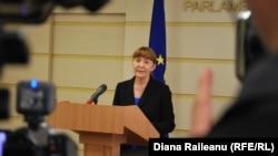 Monica Macovei la Chișinau, la 26 martie 2014