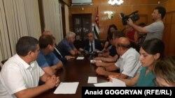 Заседание абхазского Центризбиркома