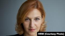 Анна Нейстат, директор представительства Human Rights Watch в России.