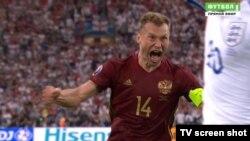 Футболист сборной России Василий Березуцкий.