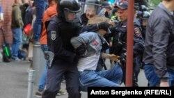 Задержания в Москве 14 июля