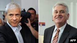 Кандидатите за претседател на Србија, Тадиќ и Николиќ.