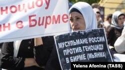 Nga protesta në Çeçeni