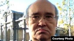 Муратбек Кетебаев, казахстанский политэмигрант, один из ближайших соратников бывшего банкира и оппозиционного политика Мухтара Аблязова. Мадрид, 17 января 2015 года.
