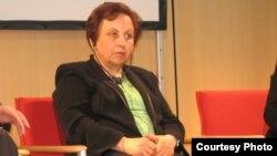 شیرین عبادی، رئیس کانون مدافعان حقوق بشر.