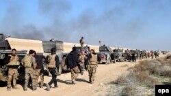 Իրաքի բանակը շարժվում է դեպի Ռամադիի կենտրոն, 22-ը դեկտեմբերի, 2015թ․