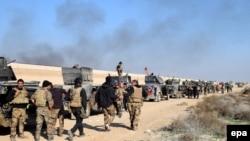 Іракські сили безпеки просуваються до центру міста Рамаді, 22 грудня 2015 року