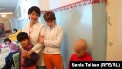 Атыраудағы мүмкіндігі шектеулі балалар интернаты. Атырау , 4 қазан, 2012 жыл