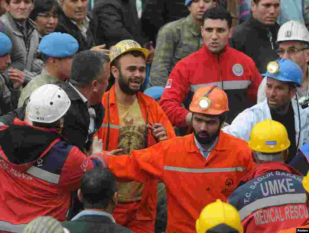 Спасенный шахтер.