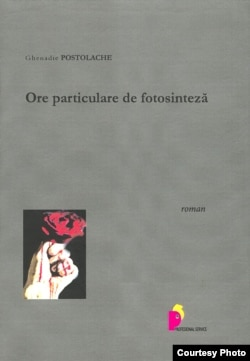 Moldova - Book cover of novel by Ghenadie Postolache, Chisinau, 14May2012