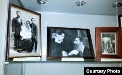 Семейные фотографиии на выставке в Доме русского зарубежья