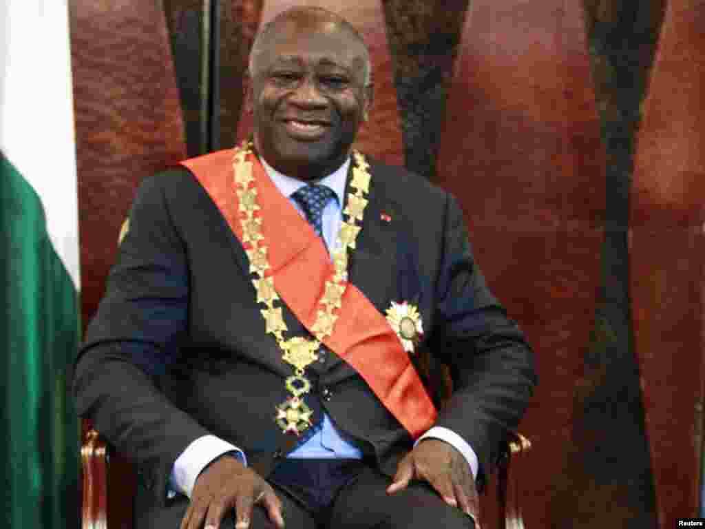 Fil di.i sahilinin prezidenti Laurent Gbagbo andi,m' m'rasimind'n az sonra? 4 dekabr 2010