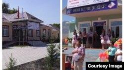 Новые школы в селе Чолпон и Кунгей.