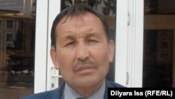 Активист из Шымкента Ибрагим Альсерке. 3 мая 2016 года.
