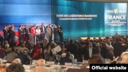 "Gathering of ""Iranian Resistance"" or ""People's Mojahedin of Iran"" was held on Saturday 1 July in Paris."