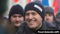 Ресейлік оппозициялық саясаткер Алексей Навальный. Мәскеу, 25 ақпан 2018 жыл
