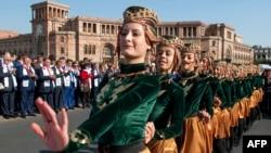 Տեսարան «Էրեբունի Երևան» տոնակատարությունից, 2014թ․