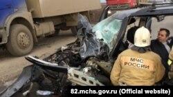 Авария в Крыму. Иллюстрационное фото